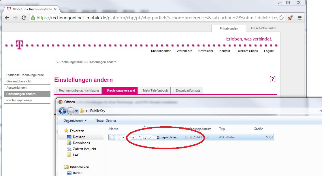 Login rechnung telekom Telekom Login