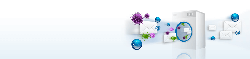 STOPS VIRUSES, SPYWARE, SPAM & CO.