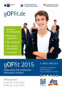 gOFfit 2015 - Messe für Ausbildung und duales Studium