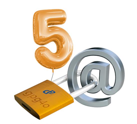 5 Jahre gpg4o