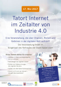 Veranstaltung Tatort Internet, Kassel 2017