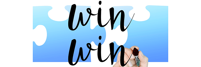 Win-Win-Situation für Vertriebspartner